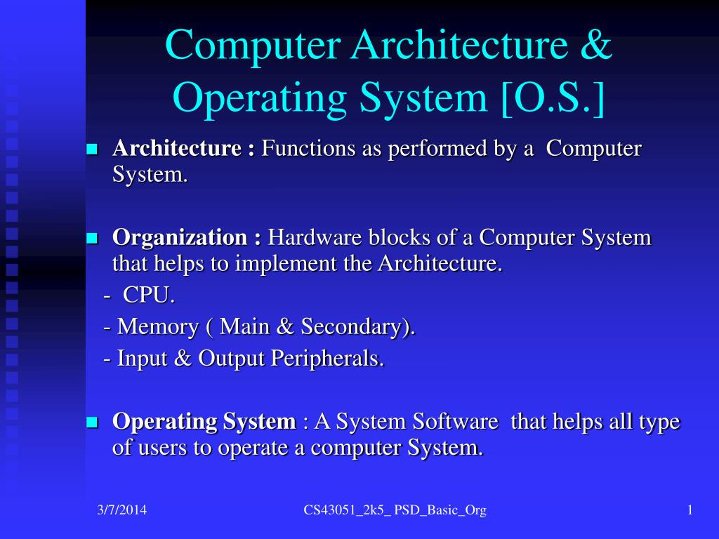 Paper presentation on operating system