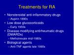 treatments for ra