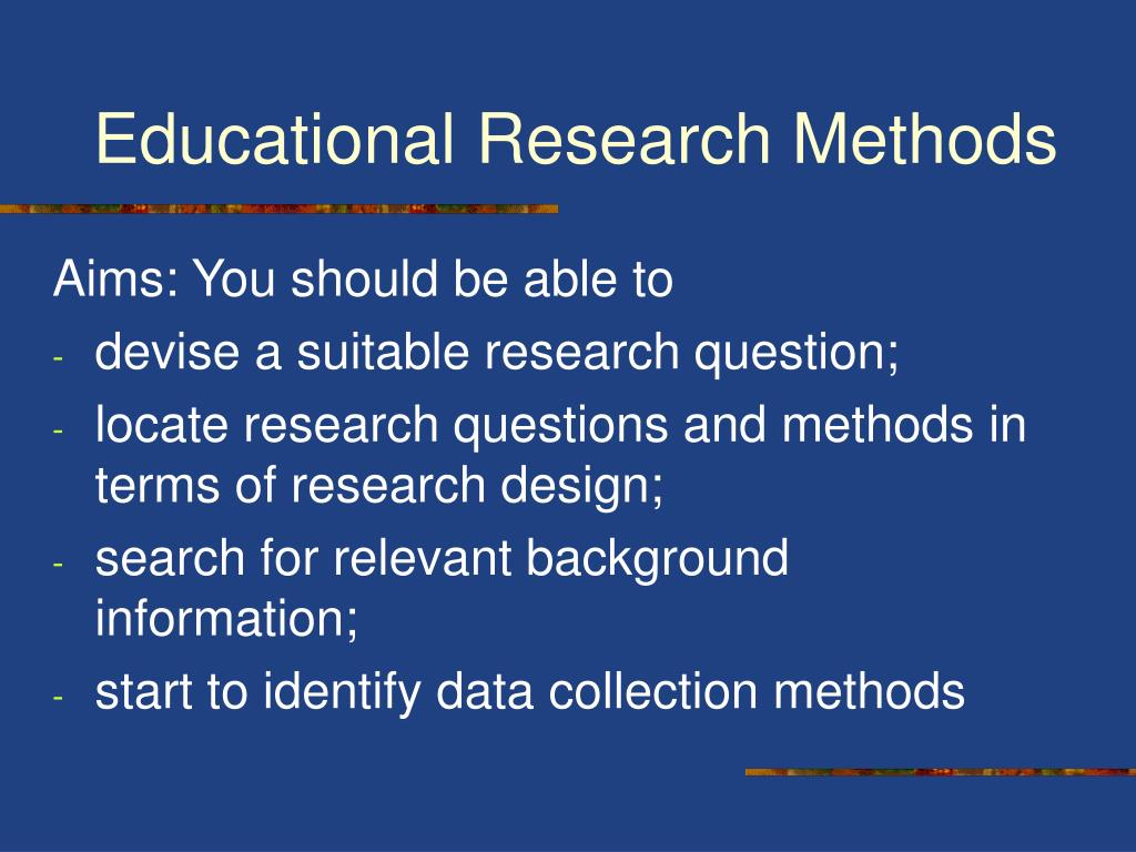 education research information
