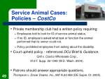 service animal cases policies costco