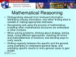 mathematical reasoning19
