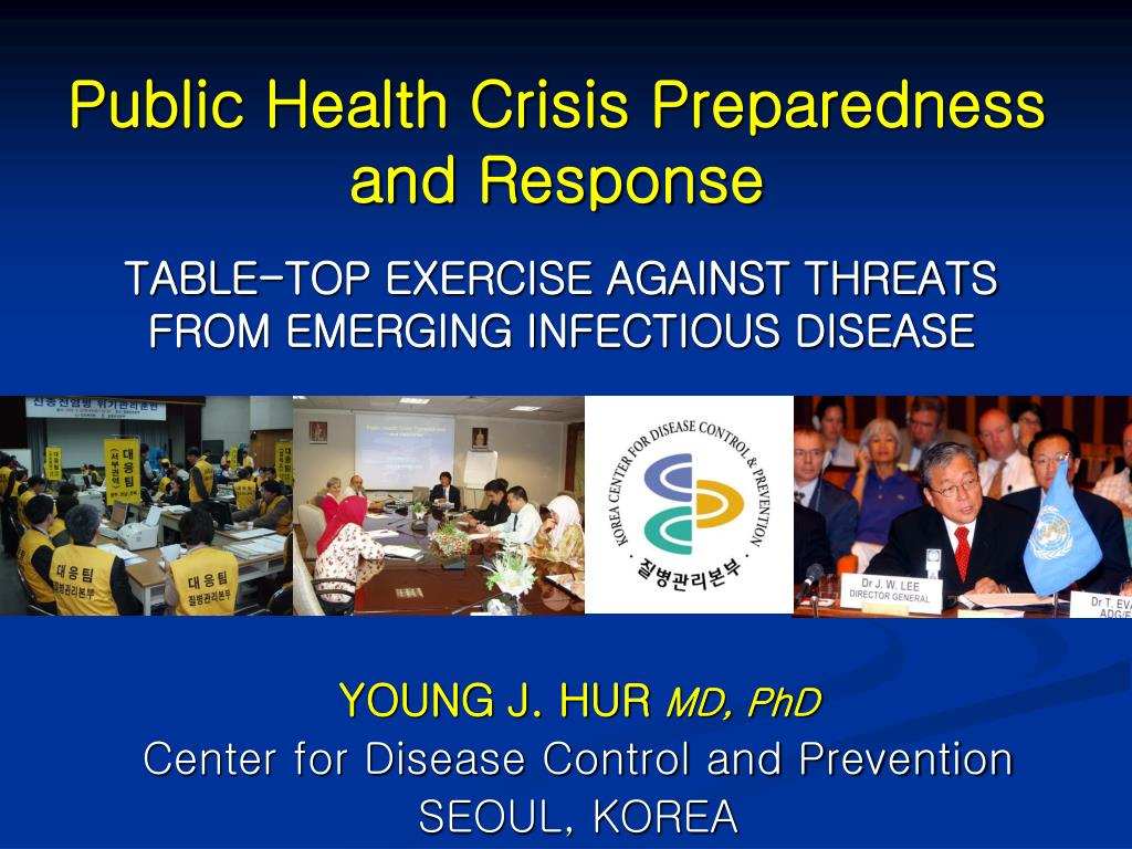 table top exercise against threats from emerging infectious disease l.