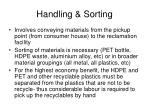 handling sorting