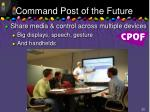 command post of the future