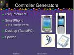 controller generators