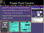 power point control