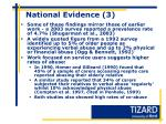 national evidence 3