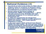national evidence 4