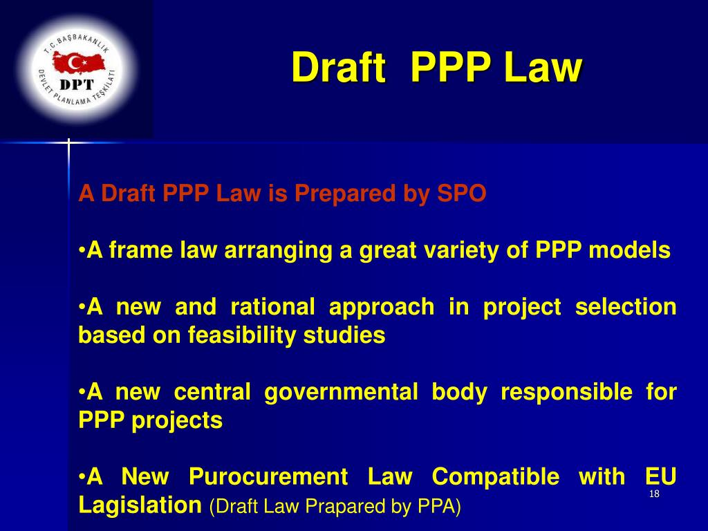Draft  PPP Law