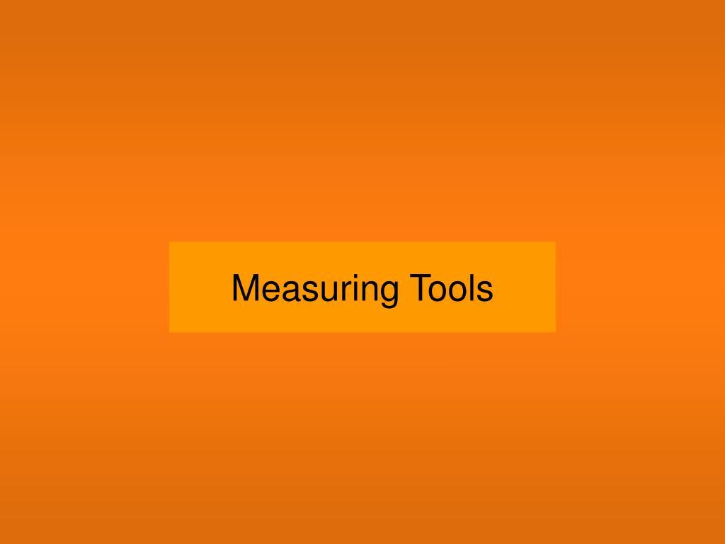 measuring tools l.