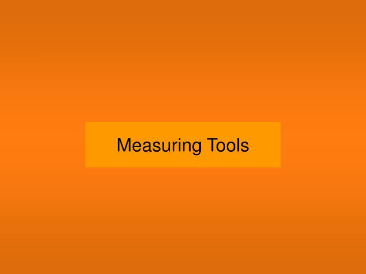 measuring tools n.