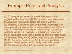 example paragraph analysis10