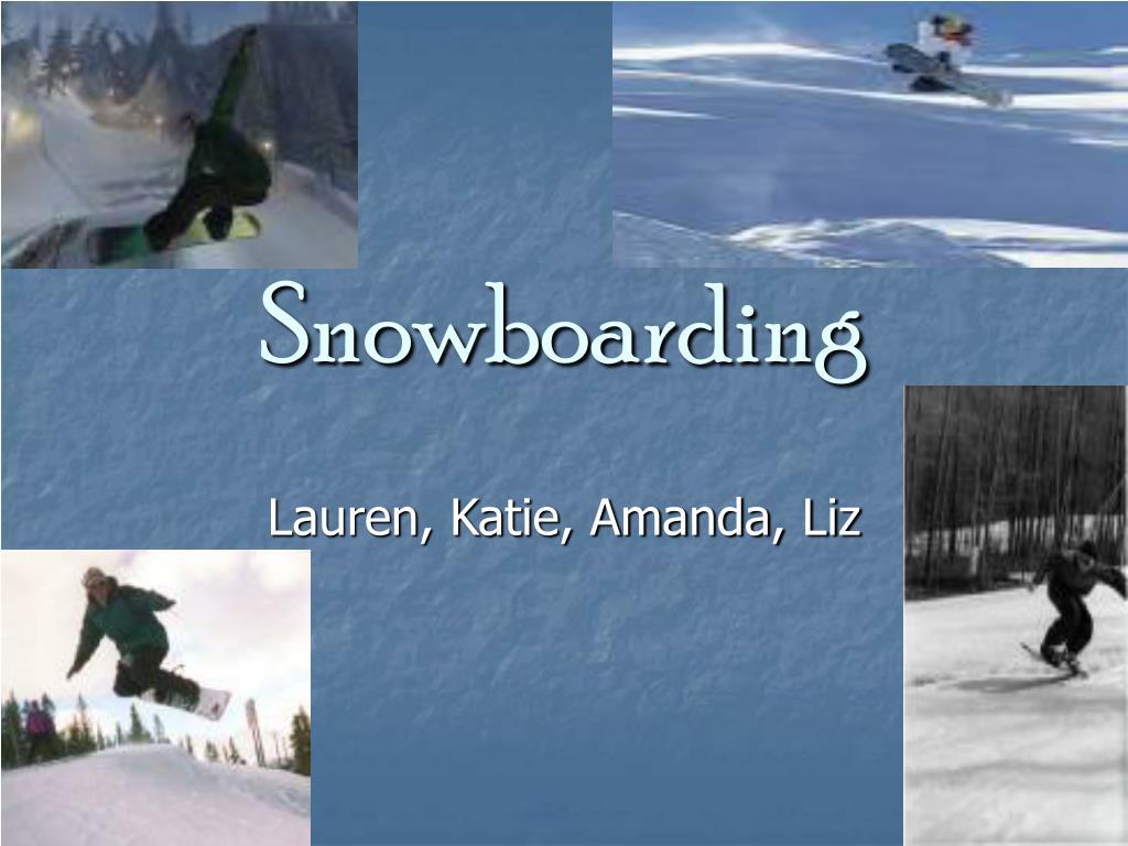 snowboarding l.