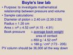 boyle s law lab
