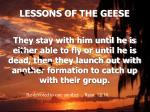 lessons of the geese15