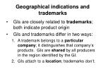 geographical indications and trademarks