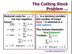 the cutting stock problem6
