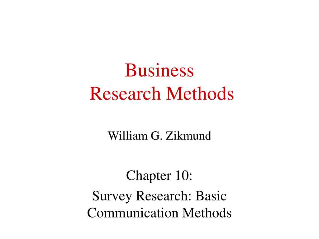 business research methods william g zikmund l.