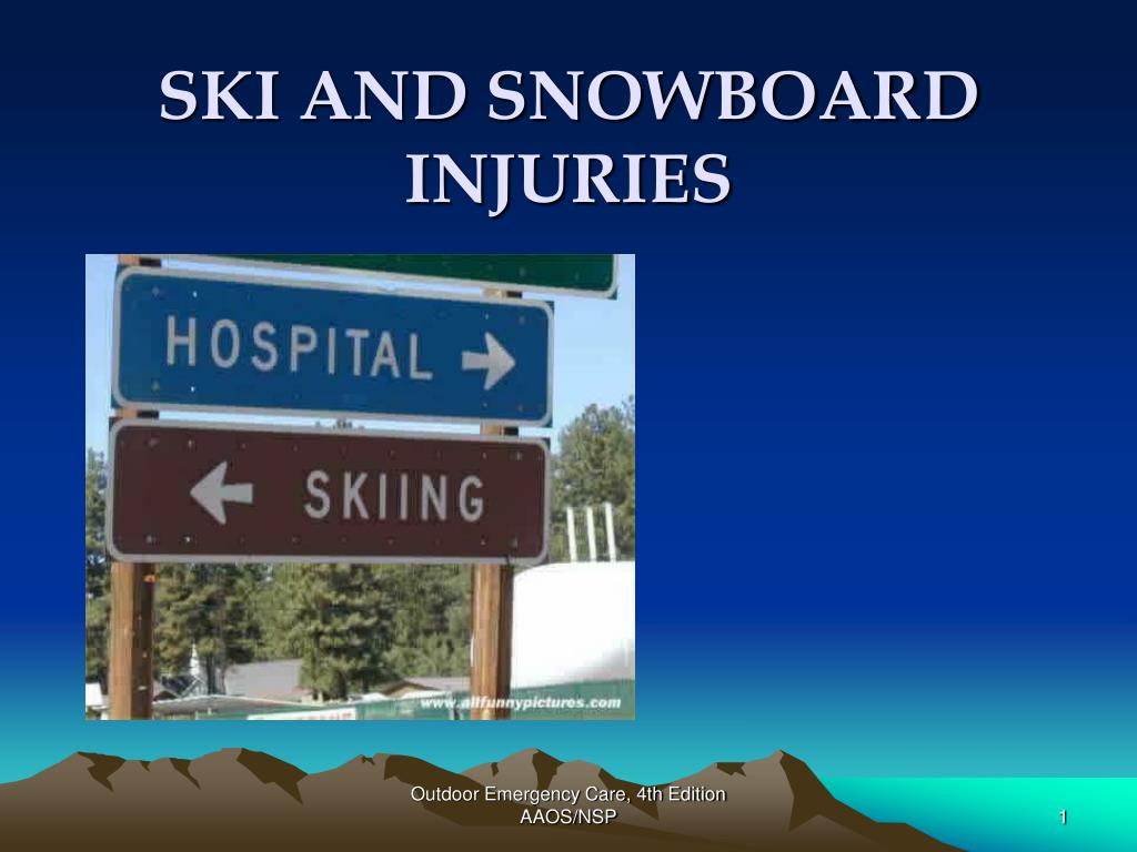 ski and snowboard injuries l.