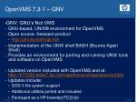 openvms 7 3 1 gnv