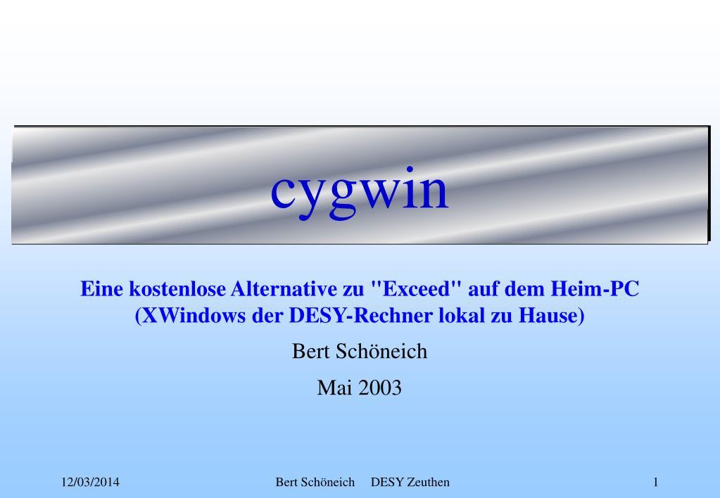 cygwin l.