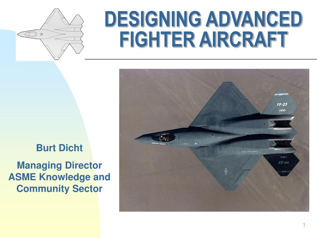 designing advanced fighter aircraft l.