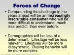 forces of change5