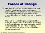 forces of change6