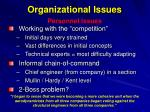 organizational issues32
