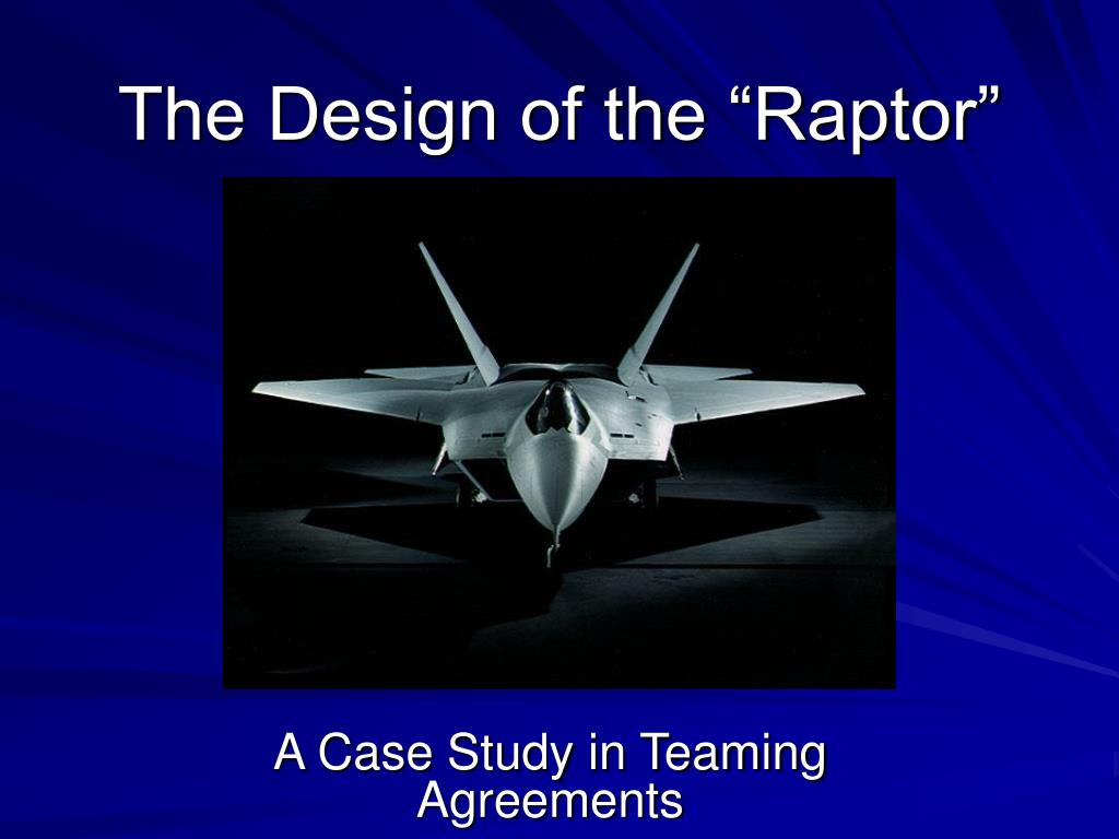 the design of the raptor l.