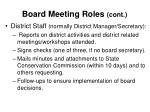 board meeting roles cont16
