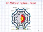 atlas muon system barrel
