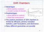 drift chambers36
