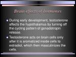 brain effects of hormones