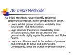 ab initio methods35