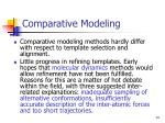 comparative modeling14