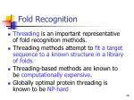 fold r ecognition26
