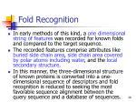 fold r ecognition28