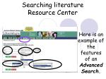 searching literature resource center37