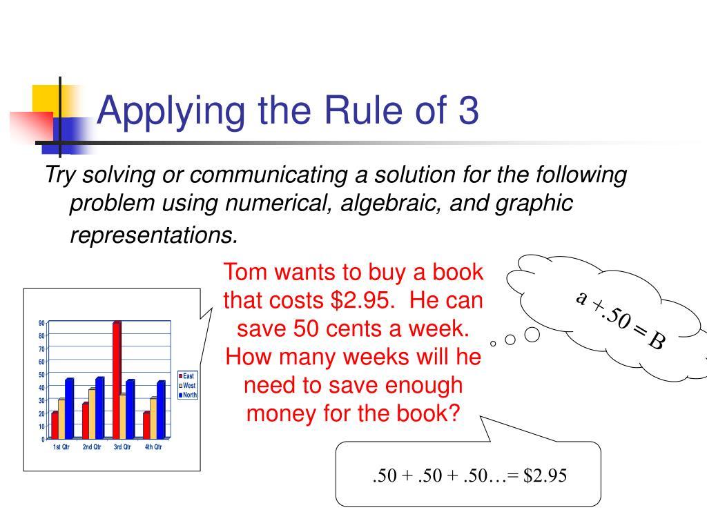 Applying the Rule of 3