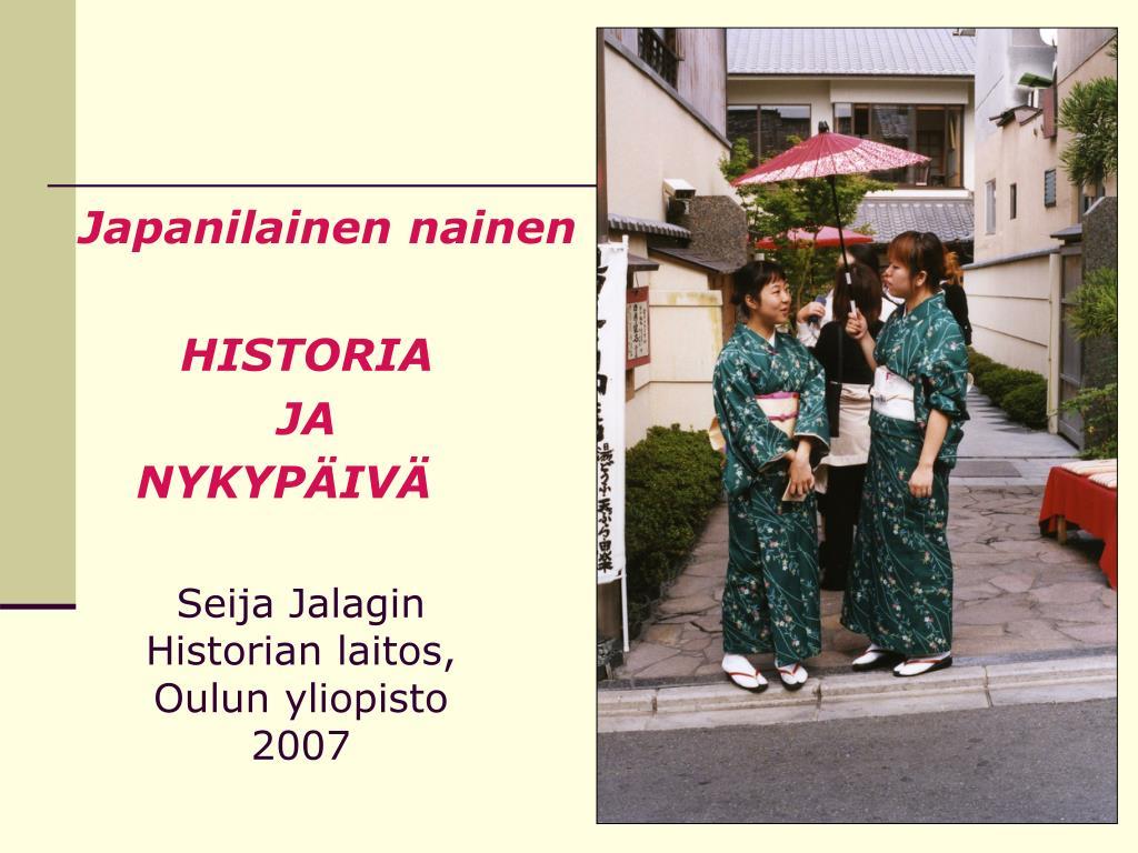 seija jalagin historian laitos oulun yliopisto 2007 l.