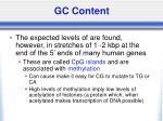 gc content32