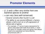 promoter elements6