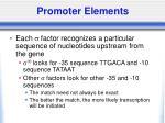 promoter elements7