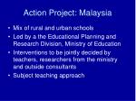 action project malaysia