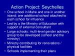 action project seychelles