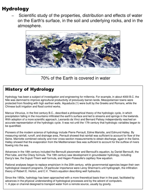 PPT - Hydrology PowerPoint Presentation - ID:353229