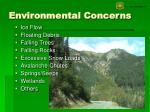 environmental concerns18