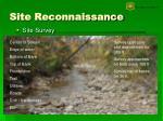 site reconnaissance5
