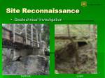 site reconnaissance6